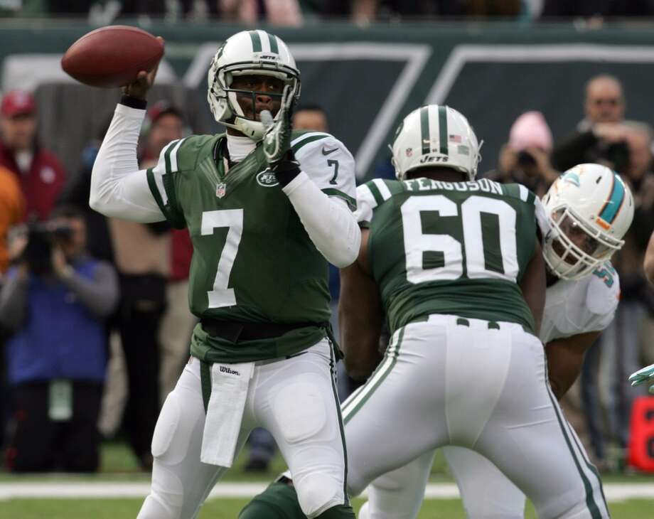 23. Jets (5-7) Last week: 23  They've sunk to the point many fans and media members want QB Geno Smith benched and Rex Ryan fired. Photo: Thomas E. Franklin, The Record/MCT