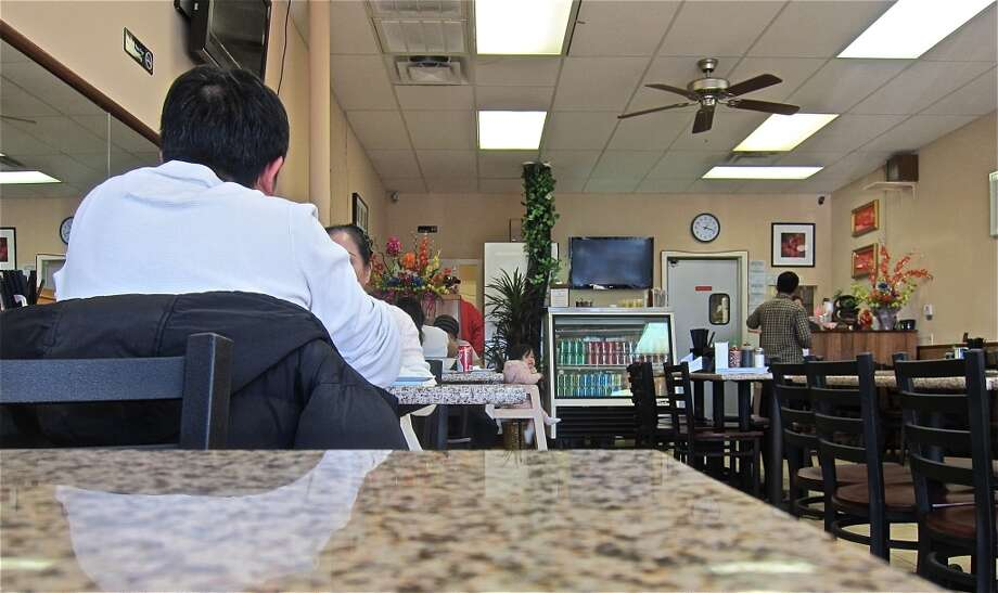 The dining room at Pho Hung. Photo: Alison Cook
