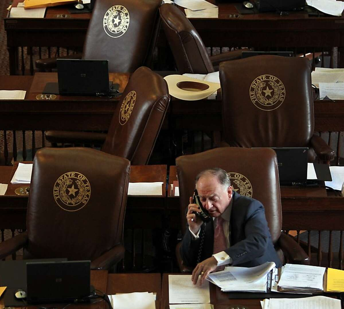 State representative Dan Flynn, R-Van, wants the attorney general's office to investigate Houston-based Harmony Public Schools, a charter school network under attack by the Republic of Turkey. (AP Photo/The Dallas Morning News, Louis DeLuca)