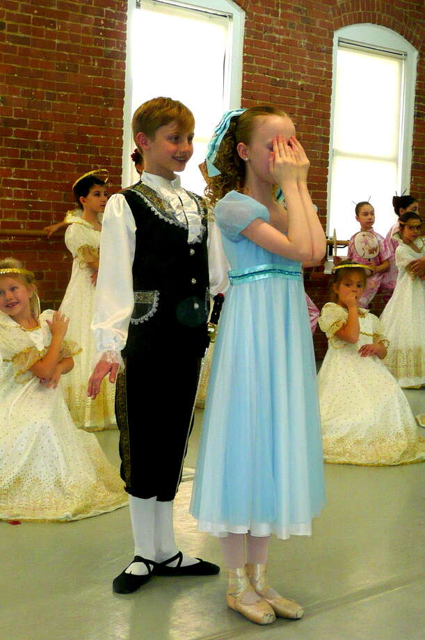 "Students of the Greenwich Ballet Academy had their first dress rehearsal of ""The Nutcracker"" ballet on November 30, 2013 in their Port Chester, N.Y. studio in preparation for their December 7-8 performances at the Greenwich High School Auditorium. Photo: Picasa, Anne W. Semmes"