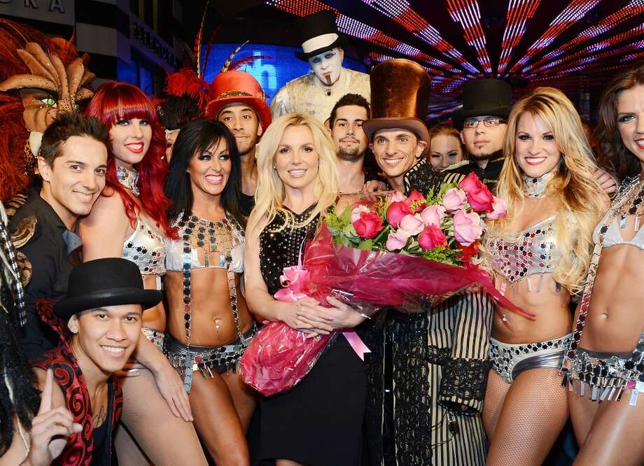 Britney Spears celebrates her official arrival at Planet Hollywood Resort & Casino on December 3, 2013 in Las Vegas, Nevada.  (Photo by Denise Truscello/WireImage) Photo: Denise Truscello, WireImage