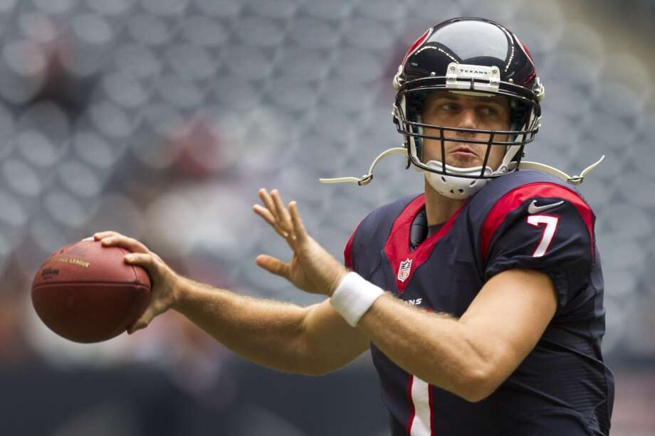 Case KeenumAfter a record-breaking career at UH, the quarterback that everyone in the city was clamoring to see play finally got his shot with the Texans. The Abilene native took the starting QB job on Oct. 20 and added some excitement in what has was a surprisingly (and depressingly) bad Texans' season. Photo: Brett Coomer, Houston Chronicle