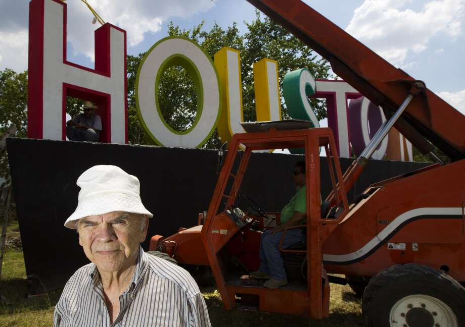 "David AdickesThis artist and sculptor, who in 2013 erected the giant ""We (heart) Houston"" sign on Interstate 10 East, is both admired and scorned for his paintings and huge sculptures. He's bought his old high school in Huntsville and is building a museum for his works. Photo: J. Patric Schneider, For The Houston Chronicle"