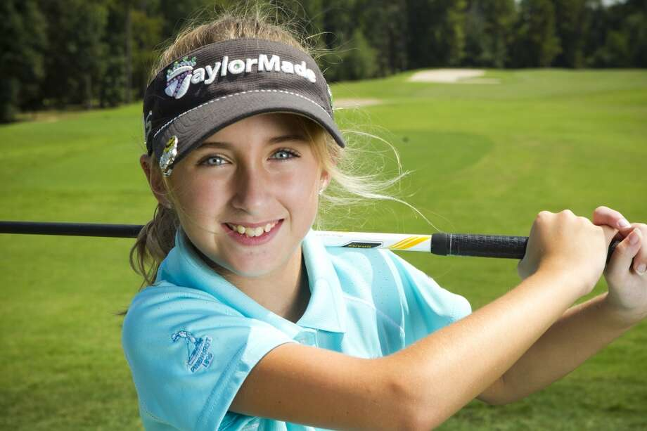 "Sky Sudberry A fourth-grader at The Woodlands Preparatory School, Sudberry is one of the best 9-year-old golfers in the world. In September, she made her film debut in the documentary ""The Short Game,"" which follows eight young golfers competing for the 2012 U.S. Kids Golf World Championship. Photo: Brett Coomer, Houston Chronicle"