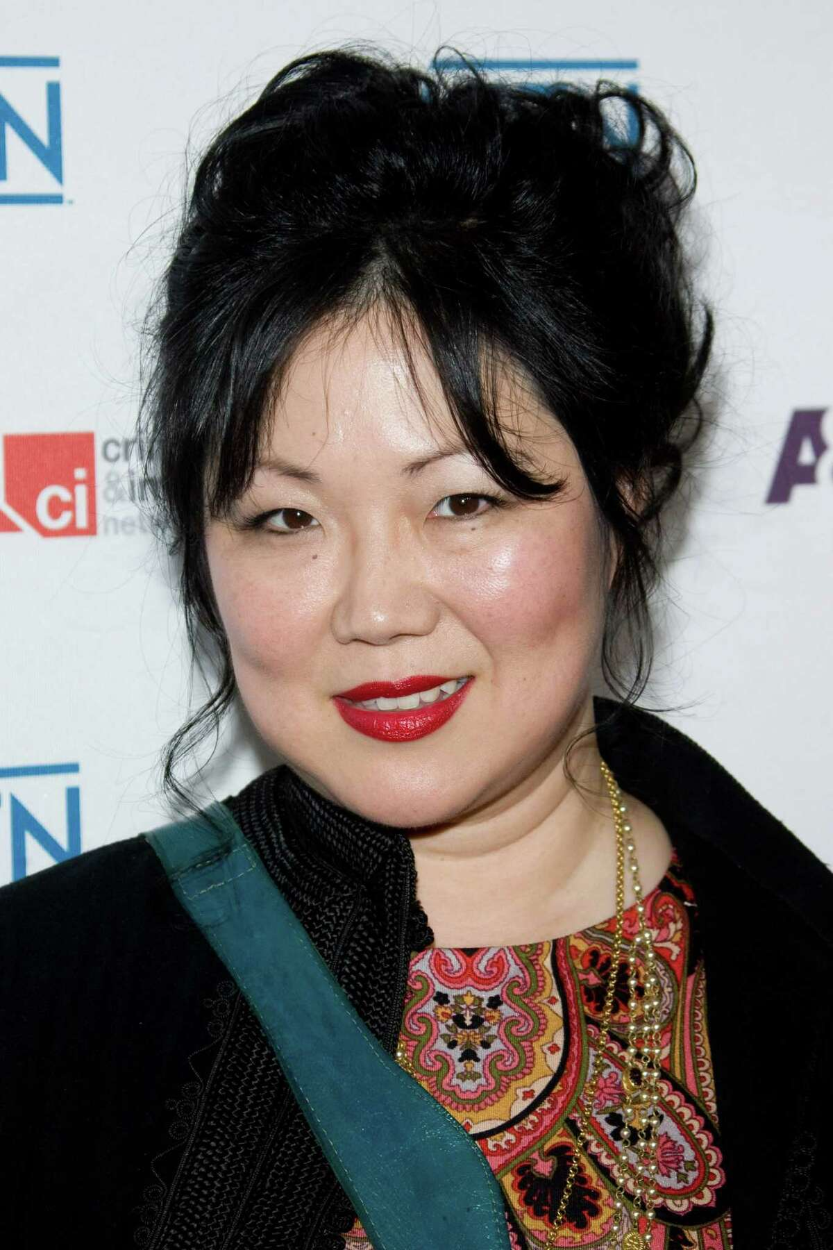 FILE - In this May 5, 2010 file photo, Margaret Cho arrives at A&E Television Network's Upfront in New York. (AP Photo/Charles Sykes, file)