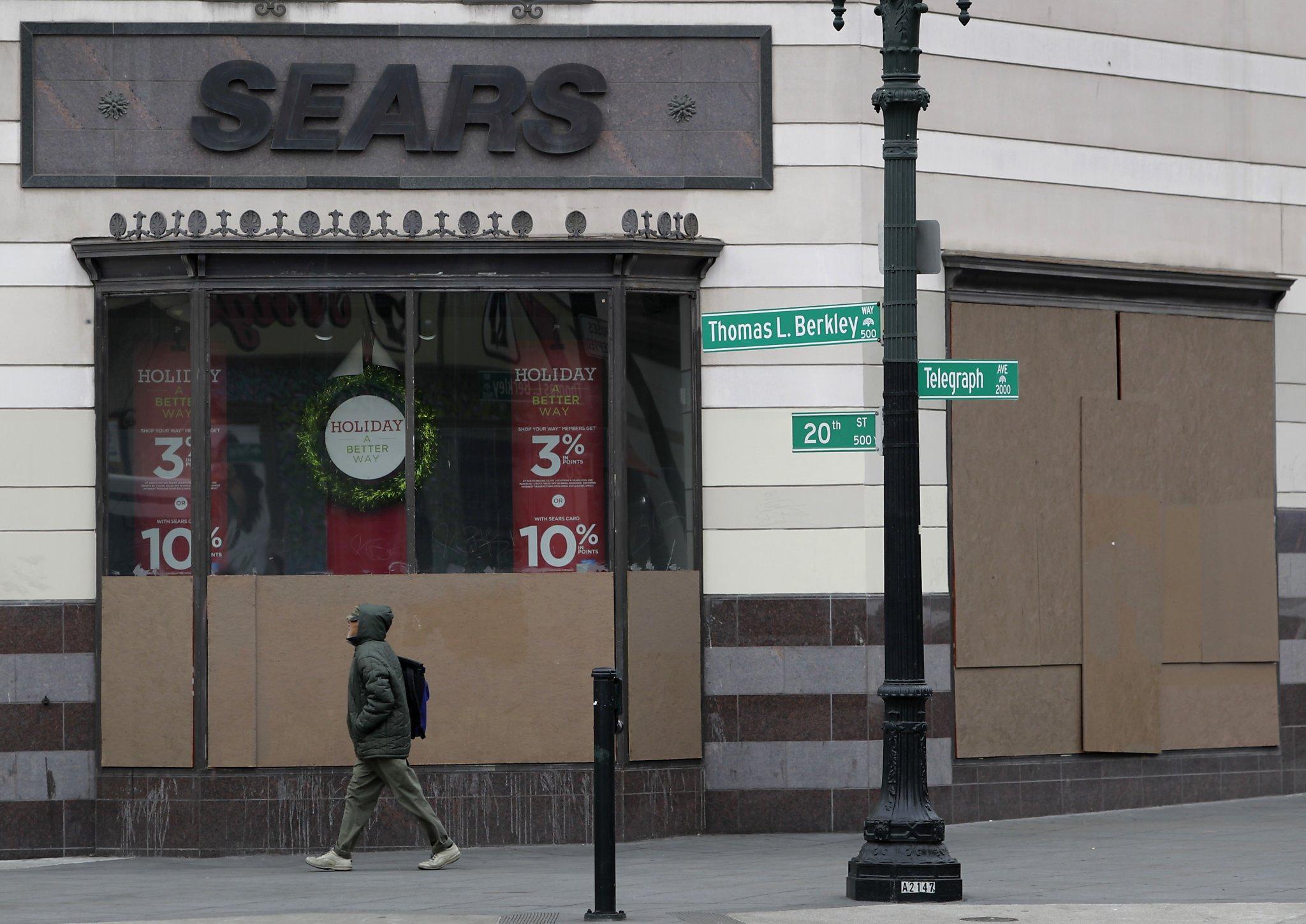 Sears Oakland Broken Windows Fix On The Way