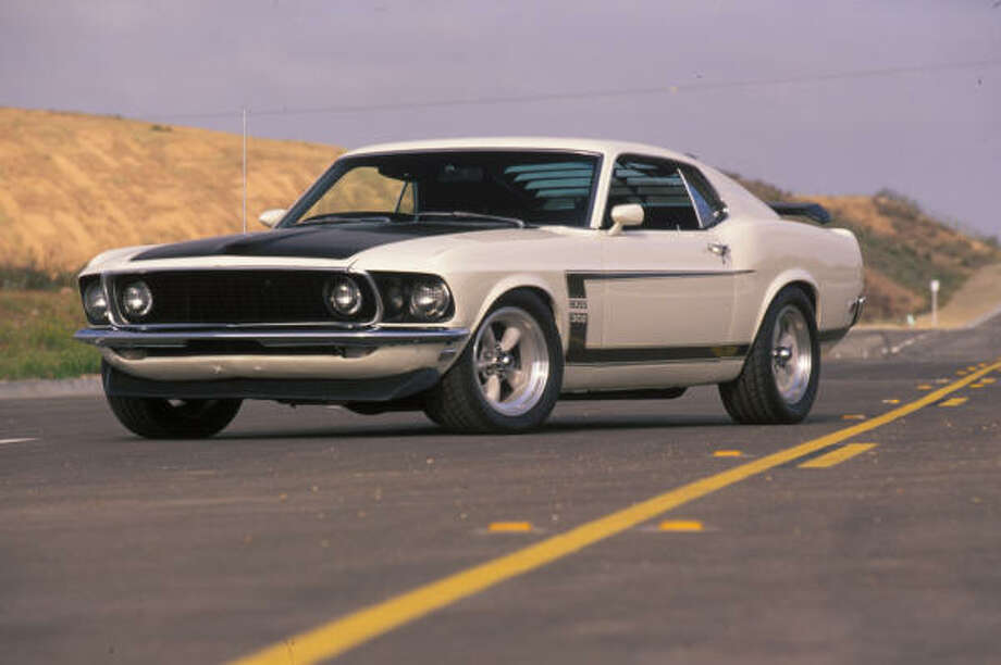 1969 Ford Mustang Boss 302 Photo: Wieck