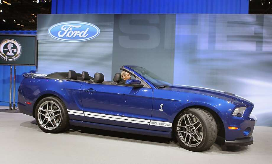 2012 Shelby Mustang GT500 convertible Photo: Scott Olson, Getty Images