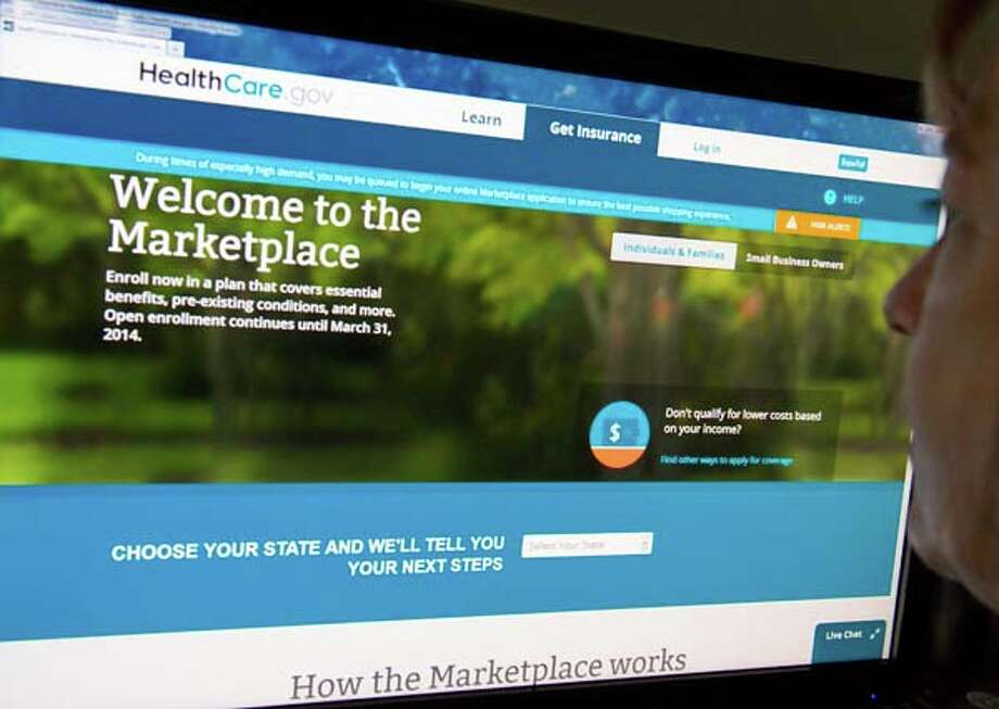 The federally-operated health insurance marketplace healthcare.gov is open for browsing. Open enrollment for 2015 health insurance coverage is Nov. 15 to Feb. 15. Photo: KAREN BLEIER, AFP/Getty Images / 2013 AFP