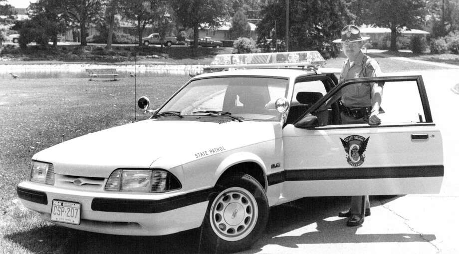 1989 Ford Mustang police vehicle Photo: Denver Post Via Getty Images