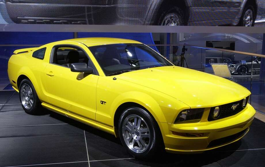 2006Ford Mustang Photo: AFP/Getty Images