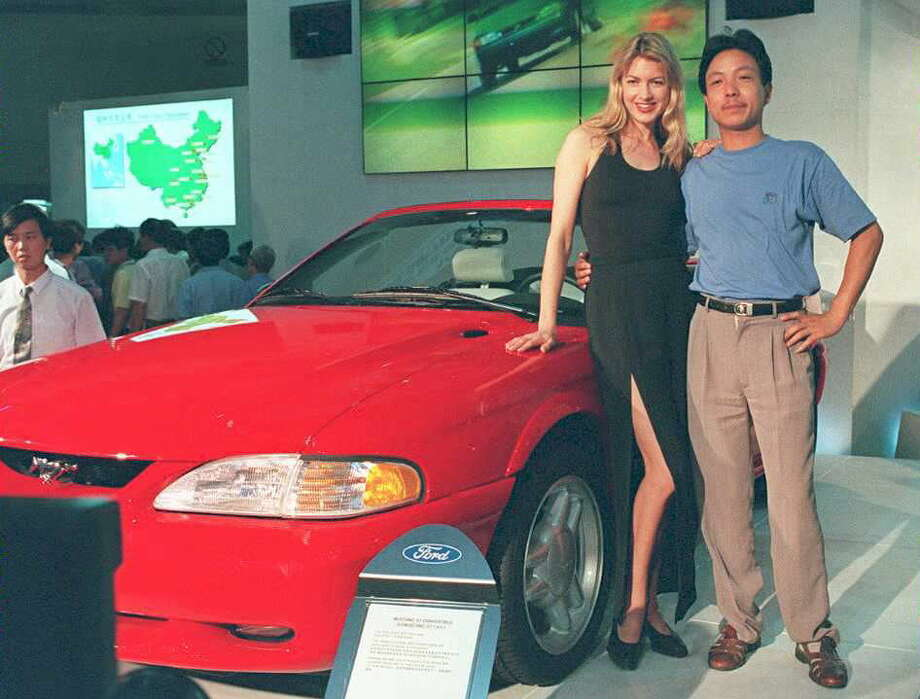 1995 Ford Mustang Photo: Unknown, AFP/Getty Images / AFP