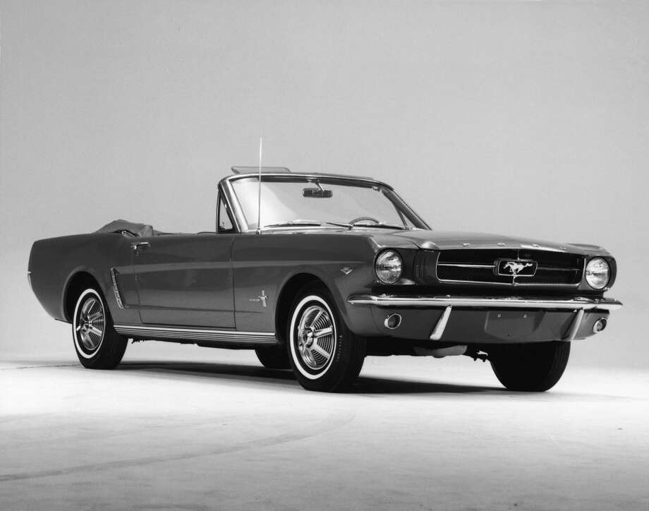 1964 Ford Mustang convertible Photo: Getty Images