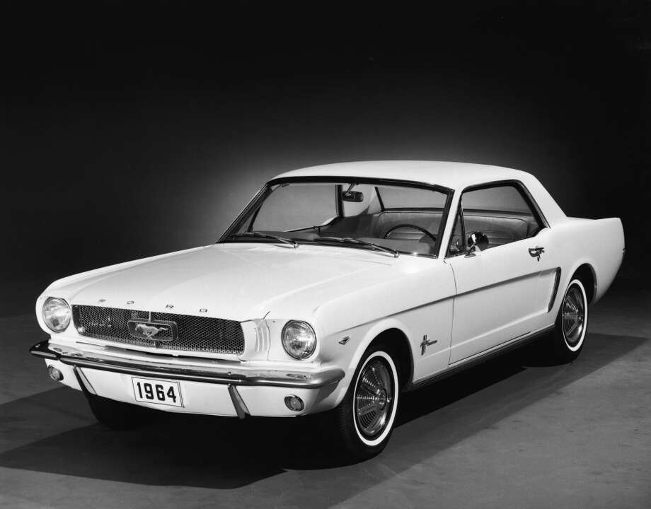 1964 Ford Mustang hardtop Photo: Getty Images