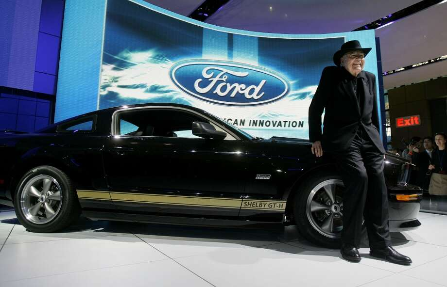 2007 Ford Shelby Mustang GT-H with Carroll Shelby Photo: Getty Images