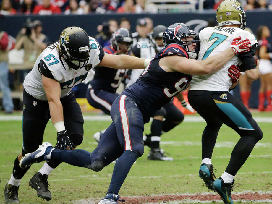 Watt remains the one destructive constant in that Texans defense over-valued by the ratings. Photo: David J. Phillip, AP / AP