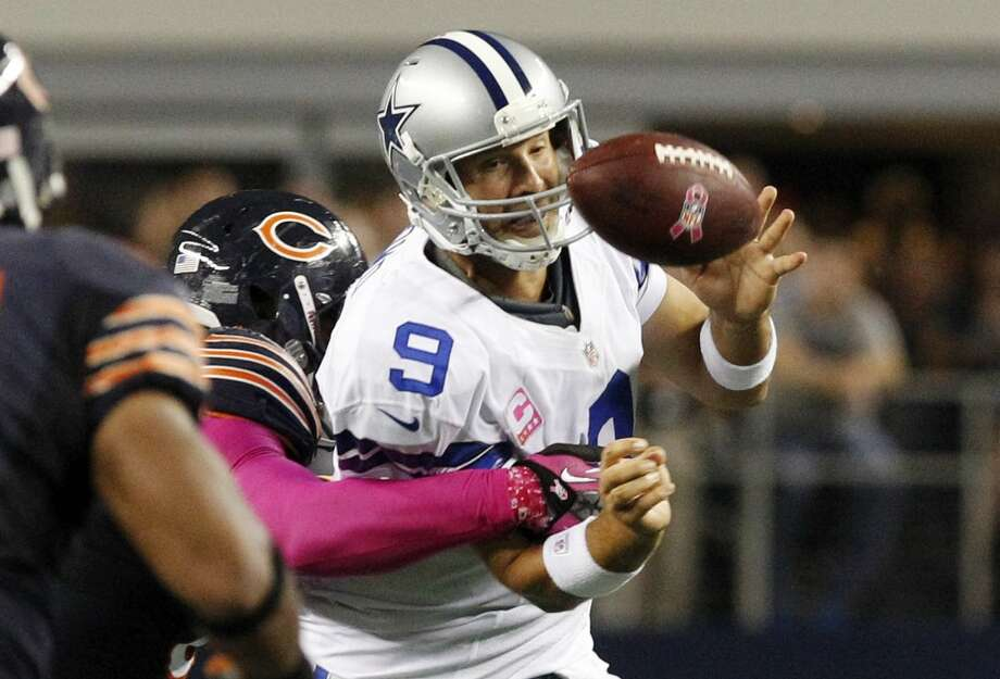 Romo will no doubt again have his hands full even against a Bears defense which no longer carries the traditional bite.