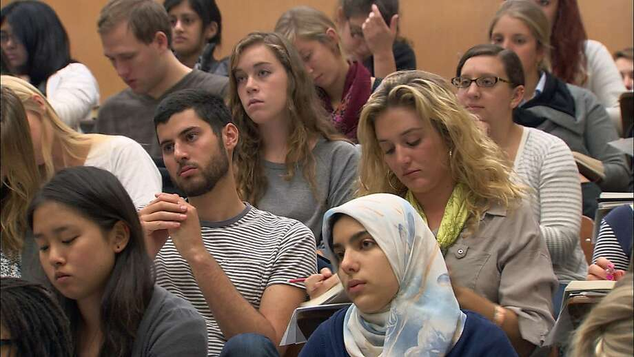 "The classroom scenes in Frederick Wiseman's ""At Berkeley"" hold more interest than the committee discussions, especially when Robert Reich is lecturing. Photo: Zipporah Films"