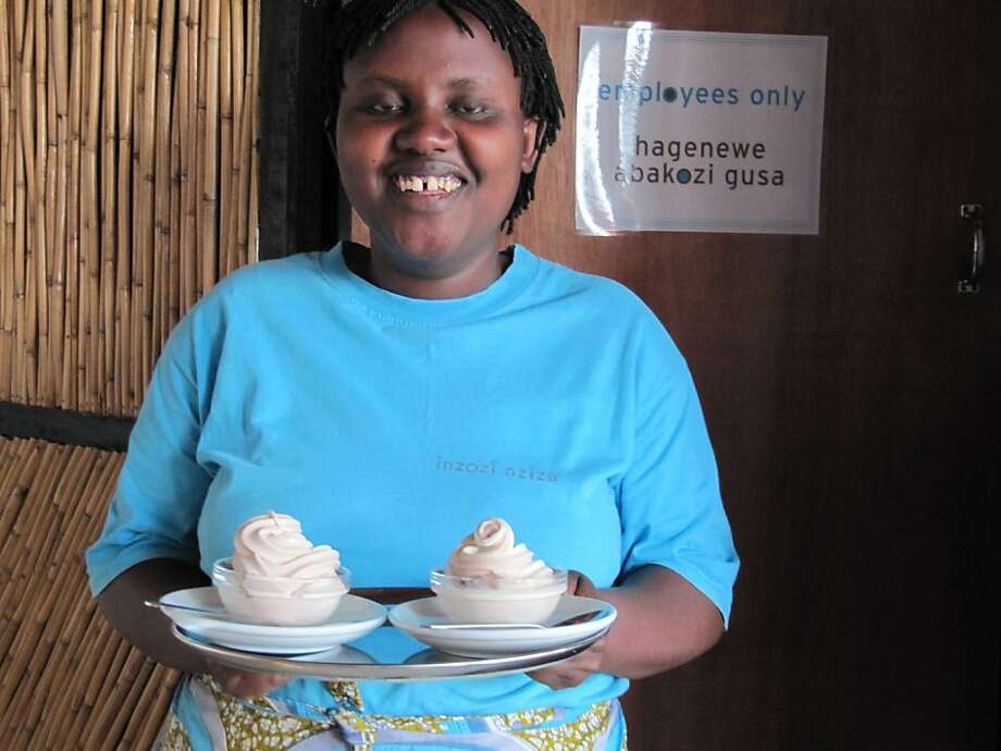 """Sweet Dreams"" spotlights women from once warring ethnic groups who open an ice cream shop. Photo: Lisa Fruchtman"
