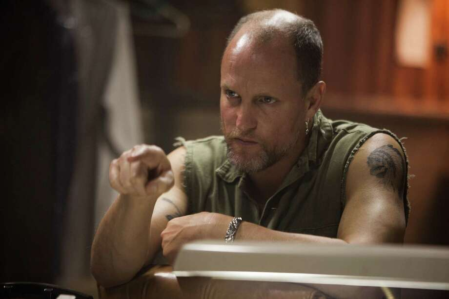 "Woody Harrelson plays a meth dealer in ""Out of the Furnace,"" a rambling, grim tale of evildoings by Scott Cooper (""Crazy Heart""). Photo: Relativity Media"