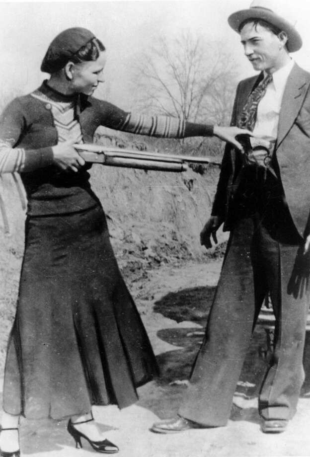Bonnie and Clyde were killed during an ambush Bienville Parish, Louisiana on May 23, 1934. The infamous Texas-native bank robbers were partners in crime, among other things. These outlaws and lovers terrorized America during the Great Depression, leaving behind a wake of death and empty bank vaults before succumbing to their own bullet-riddled demises. Live by the sword, die by the sword. Photo: HOPD / AP2011