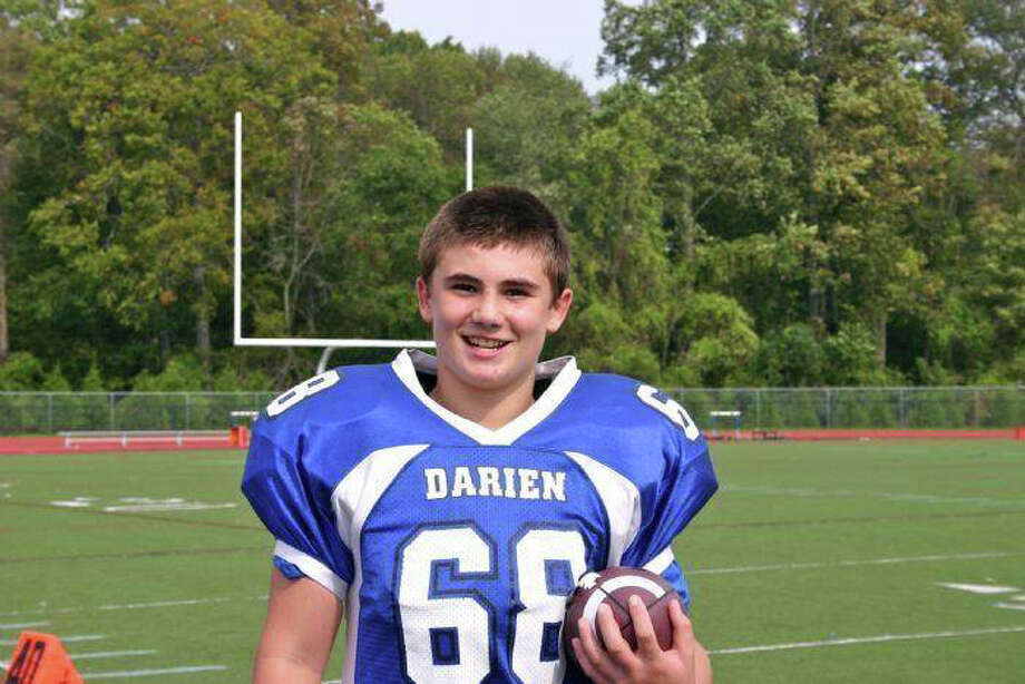 Thirteen-year-old Darien Junior Football League player Sean OíMalley has been selected to play on the eighth grade Team Connecticut for the FBU National Championship. Photo: Contributed Photo / Darien News