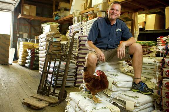 Ken Cousino at Quality Feed is known as Doctor Ken for his way with fowl.
