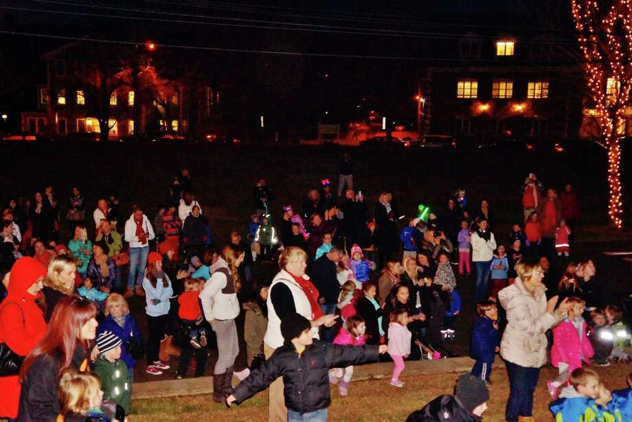Were you SEEN at Westport's Tree Lighting ceremony sponsored by the DMA downtown in front of Town Hall Wednesday evening? 12/04/2013 Photo: Todd Tracy/ Hearst Connecticut Media Group