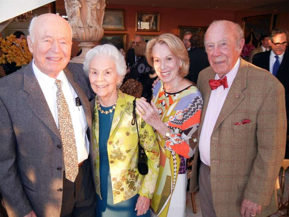 Stephen Bechtel Jr. (at left) and his wife, Betty, came at number 17 with their 2012 donation sum of $102.5 million (3% of his total wealth). That makes him the third most charitable man in the Bay Area.  Bechtel is the founder of the S.D. Bechtel, Jr. Foundation that provided $31 million and $30 million for California STEM education and environment programs respectively in 2012. Photo: Catherine Bigelow, Special To The Chronicle