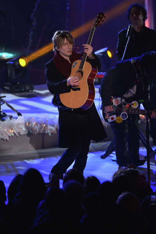 NEW YORK, NY - DECEMBER 04:  John Rzeznik of the Goo Goo Dolls performs during 81st Annual Rockefeller Center Christmas Tree Lighting Ceremony at Rockefeller Center on December 4, 2013 in New York City. Photo: Stephen Lovekin, Getty Images / Getty Images