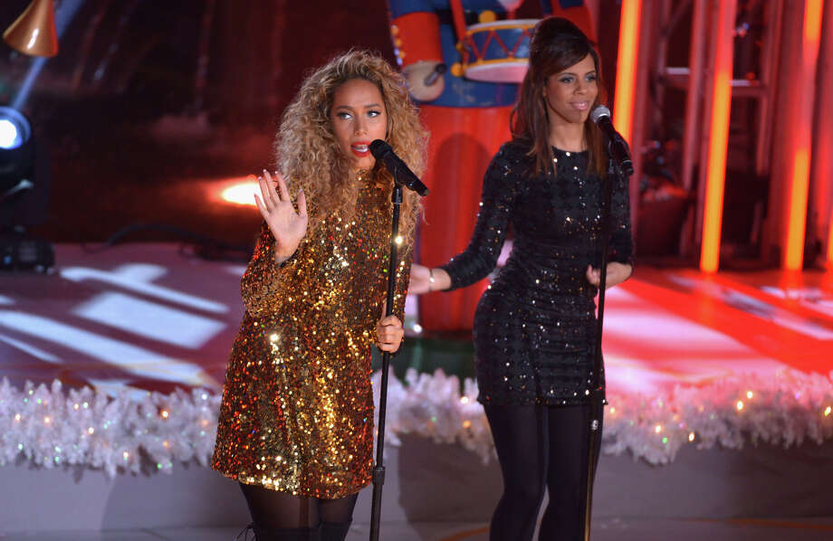 NEW YORK, NY - DECEMBER 04:  Leona Lewis performs during 81st Annual Rockefeller Center Christmas Tree Lighting Ceremony at Rockefeller Center on December 4, 2013 in New York City. Photo: Stephen Lovekin, Getty Images / Getty Images