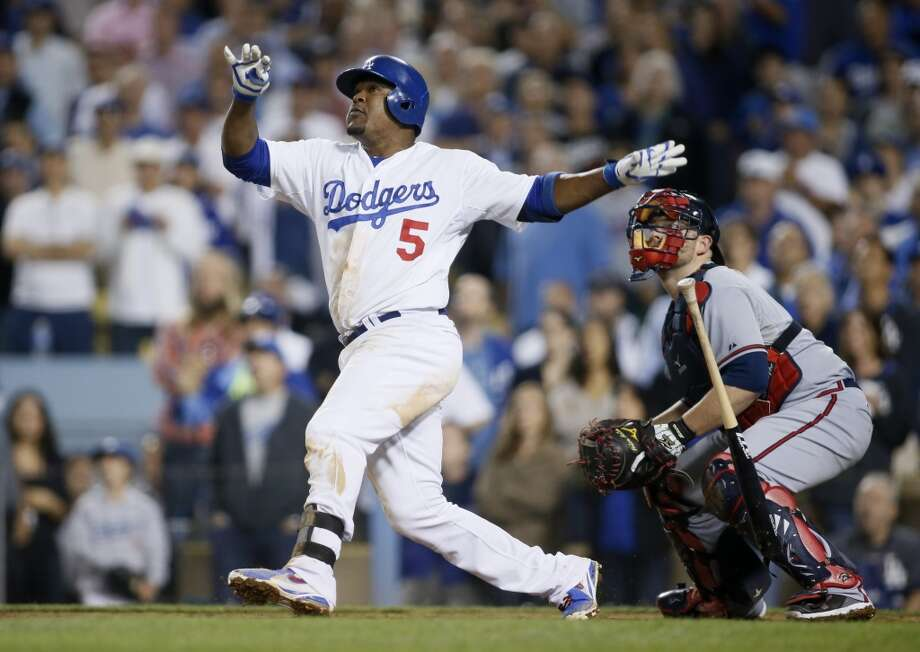 Juan Uribe Third baseman Los Angeles Dodgers 2013 stats: .278 batting average, 12 HRs, 50 RBI	 Re-signed by Los Angeles Dodgers Photo: Danny Moloshok, Associated Press