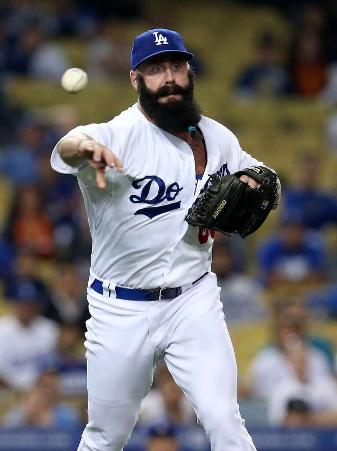 Brian Wilson Relief pitcher 2013 stats: 2-1 record, 0.66 ERA in 13.2 innings pitched. Re-signed by Los Angeles Dodgers Photo: Stephen Dunn, Getty Images