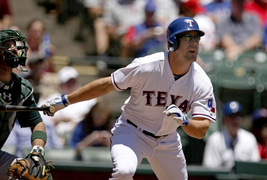 David Murphy Outfielder 2013 stats: .220 batting average, 13 HRs, 45 RBI Old team: Texas Rangers New team: Cleveland Indians Photo: Khampha Bouaphanh, MCT