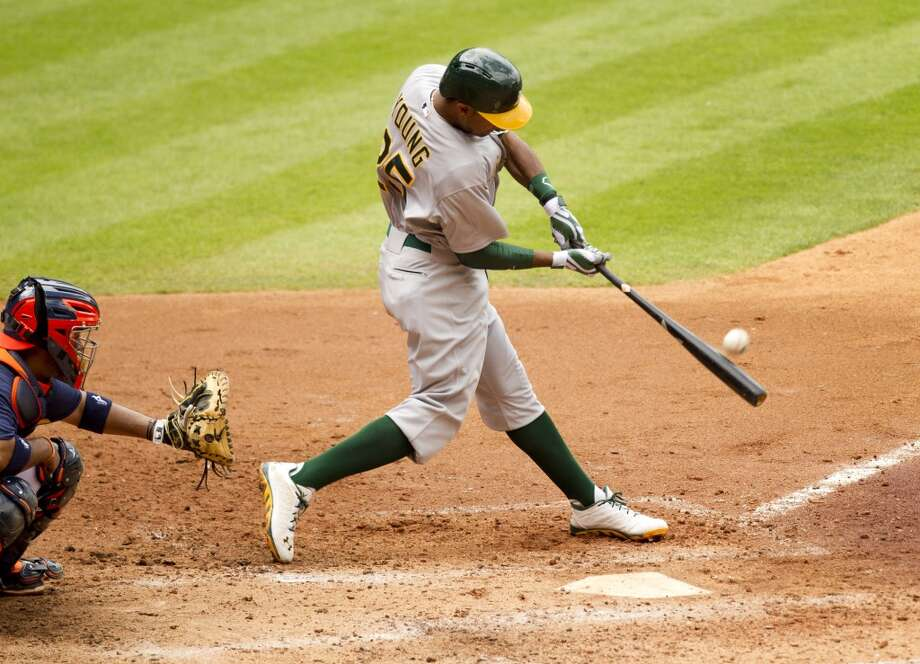 Chris Young Outfielder 2013 stats: .200 batting average, 12 HRs, 40 RBI Old team: Oakland Athletics New team: New York Mets Photo: Brett Coomer, Houston Chronicle