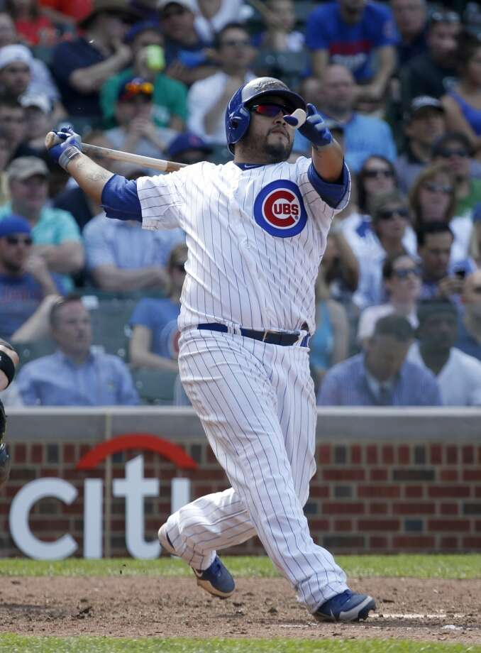 Dioner Navarro Catcher 2013 stats: .300 batting average, 13 HRs, 34 RBI Old team: Chicago Cubs New team: Toronto Blue Jays Photo: Charles Rex Arbogast, Associated Press