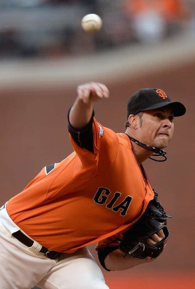 Ryan Vogelsong Starting pitcher 2013 stats: 4-6 record, 5.73 ERA Re-signed by San Francisco Giants Photo: Hearon W. Henderson, Getty Images