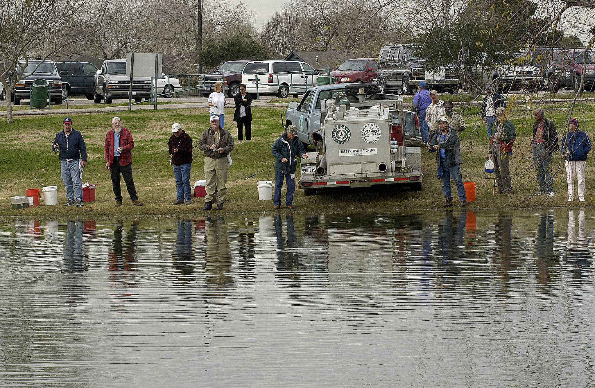 State spreading holiday fishing cheer to local ponds for Local fishing ponds