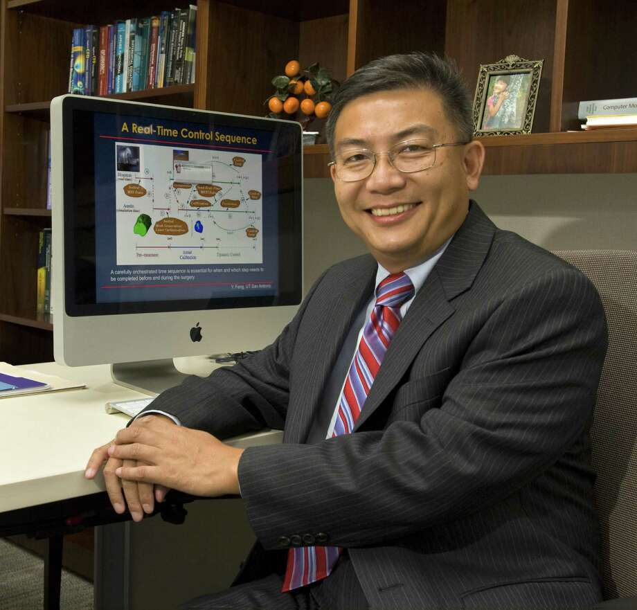Mechanical engineering Professor Yusheng Feng was lauded as the professor who made the greatest headway in patenting and licensing his or her research. Photo: Courtesy Photo