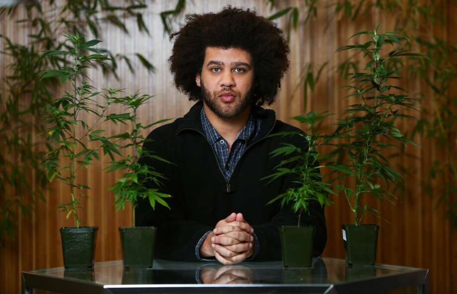 """How Dante Jones got interested in the many strains of marijuanaI was in Amsterdam (2009) and, as a Seattle geek, I took a spread sheet and made a list of all my favorite strains and what they did, where I could get them. I'm a Seattle snob. I like good food. I like good weed. So, I picked all these places and strains and learned about what they were doing to me at the same time.When I got back, I looked for these. I asked my dealer, and he said, """"Sure. I'll call it whatever you want."""" It was shortly thereafter that I also realized I couldn't get marijuana when I needed it.I was working full time making video games.… Making video games, you work all day, every day and by the time you close you can't go get marijuana because these few medical marijuana places we had were closed by then.And, so that's where it came from (Green Ambrosia, the medical marijuana collective he started with others).A delivery service, I thought that was going to be a good way to meet people like me and at the same time it was something I could use tech to get a solution on a website. We put a website together, started delivering (and learning how to grow it before that, as well). I started with a collective garden and, same thing, just approached it as an engineer, writing down all the tips and tricks. Photo: JOSHUA TRUJILLO, SEATTLEPI.COM"""