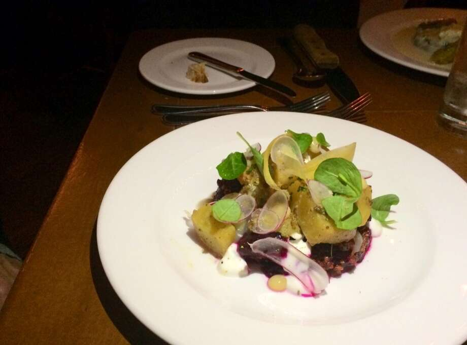 Roasted beets with Meyer lemon marmalade ($16)