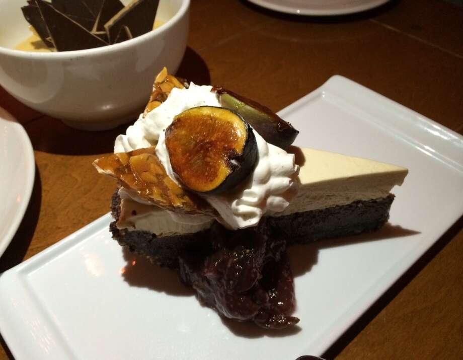 Almond cream tart ($10)