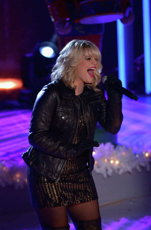NEW YORK, NY - DECEMBER 04:  Lauren Alaina performs during 81st Annual Rockefeller Center Christmas Tree Lighting Ceremony at Rockefeller Center on December 4, 2013 in New York City. Photo: Stephen Lovekin, Getty Images / Getty Images
