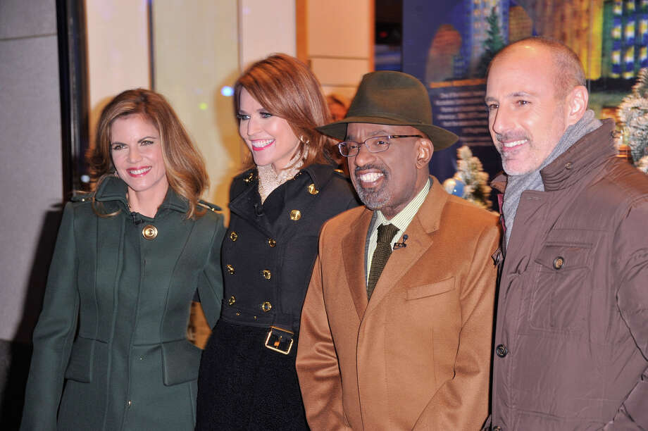 NEW YORK, NY - DECEMBER 04:  (L-R)  Journalist Natalie Morales, Journalist Savannah Guthrie, TV Personality Al Roker and Journalist Matt Lauer arrive during 81st Annual Rockefeller Center Christmas Tree Lighting Ceremony at Rockefeller Center on December 4, 2013 in New York City. Photo: Stephen Lovekin, Getty Images / Getty Images
