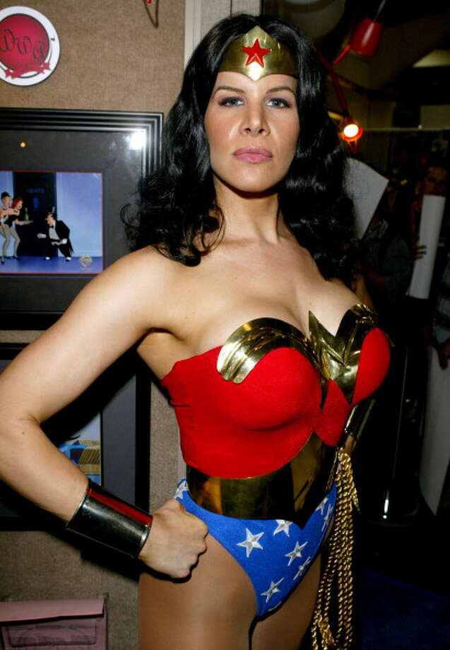 Wonder Woman during Wonderful World of Animation at Comic-Con 2004 at San Diego Convention Center in San Diego, California, United States. Photo: Jesse Grant, WireImage For Wonderful World Of / WireImage
