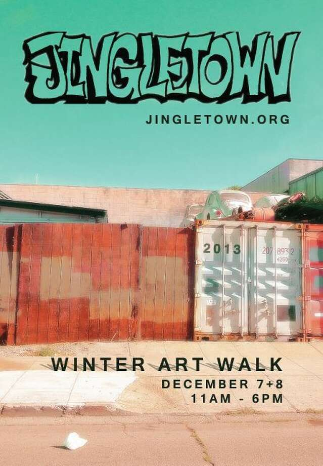 Jingletown Winter Art Walk: There are more than a few art walk events this weekend —   the First Friday Art Crawl in North Beach, the Temescal Art Hop, Oakland Art Murmur, and the Upper TL Art Walk among them. The Jingletown Winter Art Walk is an open studio event, highlighting the work of more than 50 artists who live and/or work in the Jingletown neighborhood, situated between the Park and Fruitvale bridges in Oakland. 11 a.m.-6 p.m. Saturday and Sunday. www.jingletown.org. Photo: Www.jingletown.org