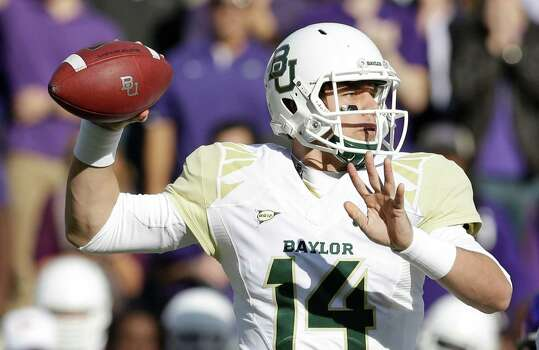 Baylor quarterback Bryce Petty is a contender for the Heisman Trophy. Photo: LM Otero, Associated Press / AP