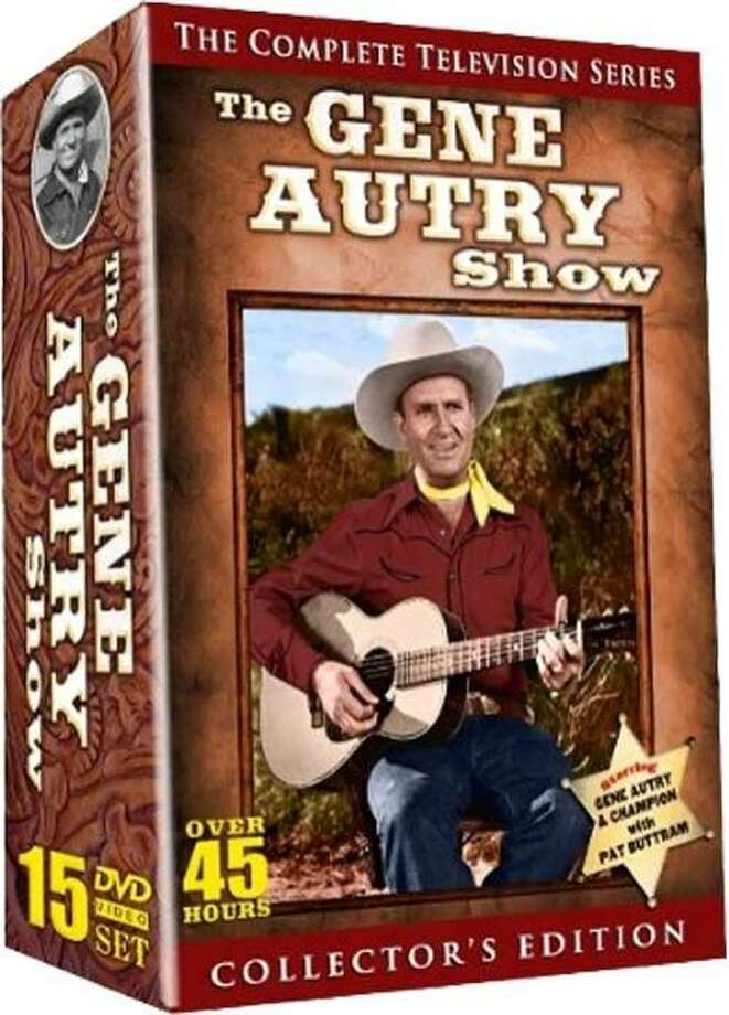 "DVD cover: ""The Gene Autry Show: The Complete Television Series"""" Photo: Timeless Video"