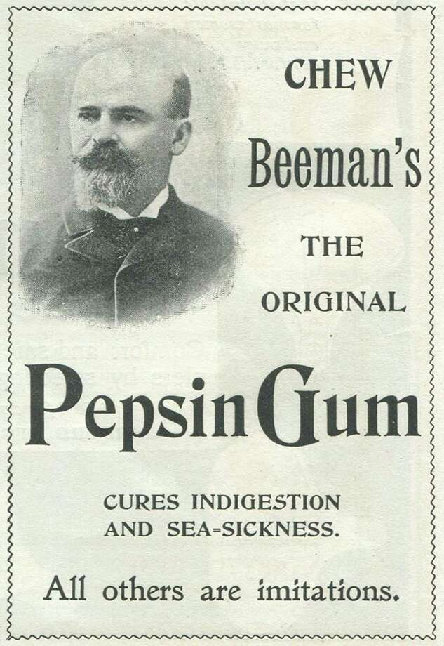 Originally a cure for indigestion, now the gum is a staple of old-time candy shops, alongside the lemon drops and wax lips. Photo: Jay Paull, Getty Images / Archive Photos