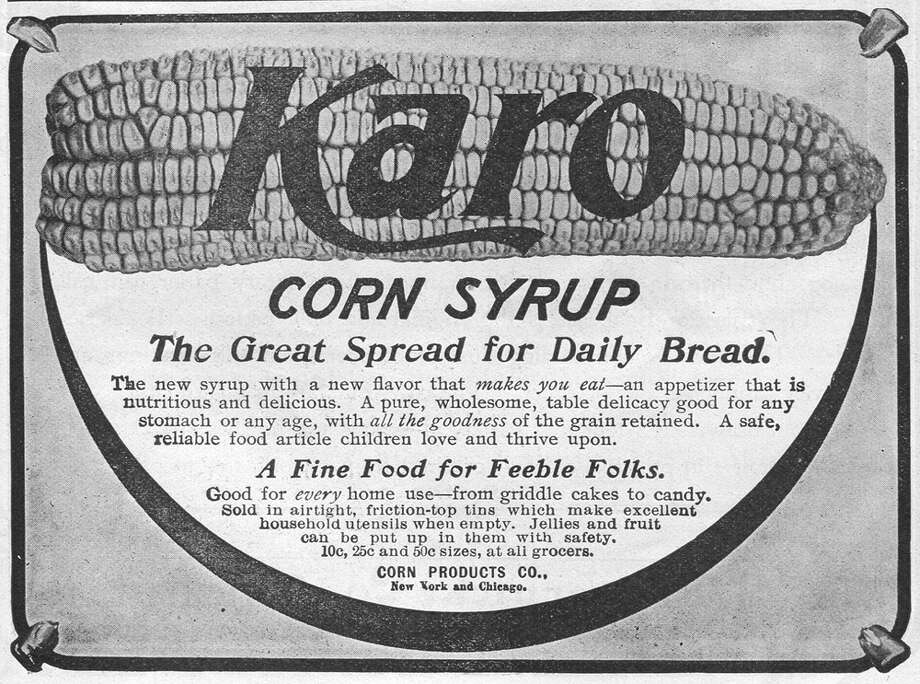 You can still buy Karo's syrup today for all your recipe needs, but it's safe to say butter the preferred bread spread nowadays. Photo: Jay Paull, Getty Images / Archive Photos